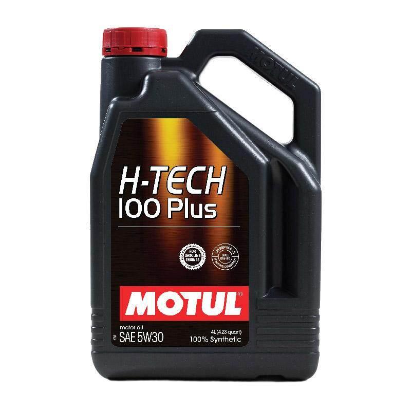 Motul Sae 5w-30 H-Tech 100 Plus น้ำมันเครื่อง ขนาด 4 ลิตร By Excel Part.