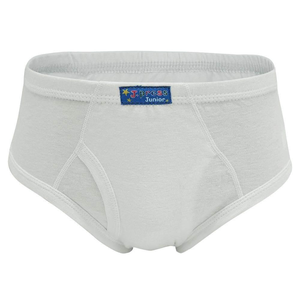 ขาย ซื้อ J Press กางเกงชั้นในเด็กชาย เจเพรส No 1453W สีขาว 6ตัว เซ็ท กรุงเทพมหานคร