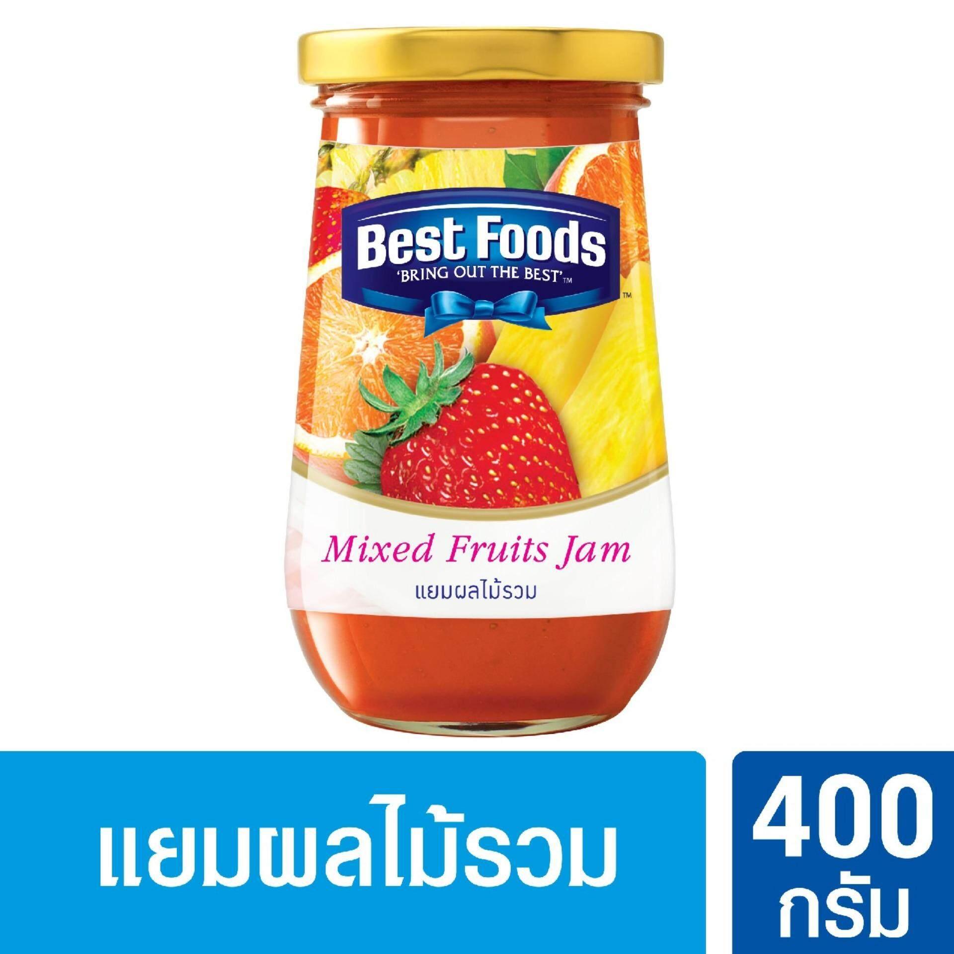 Best Foods เบสท์ฟู้ดส์ แยมผลไม้รวม 400กรัม