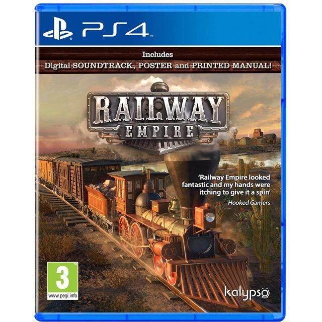 PS4 RAILWAY EMPIRE (EURO)