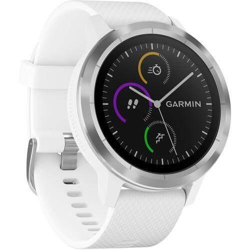 การใช้งาน  มหาสารคาม Garmin Vivoactive 3 - [White with Stainless Hardware]