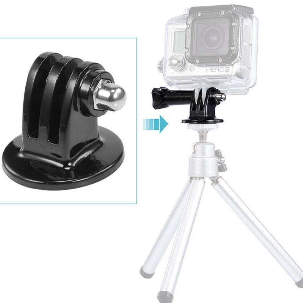 โปรโมชั่น Gopro Sjcam Xiaomi Yi Tripod Mount Adapter Hellogopro ใหม่ล่าสุด