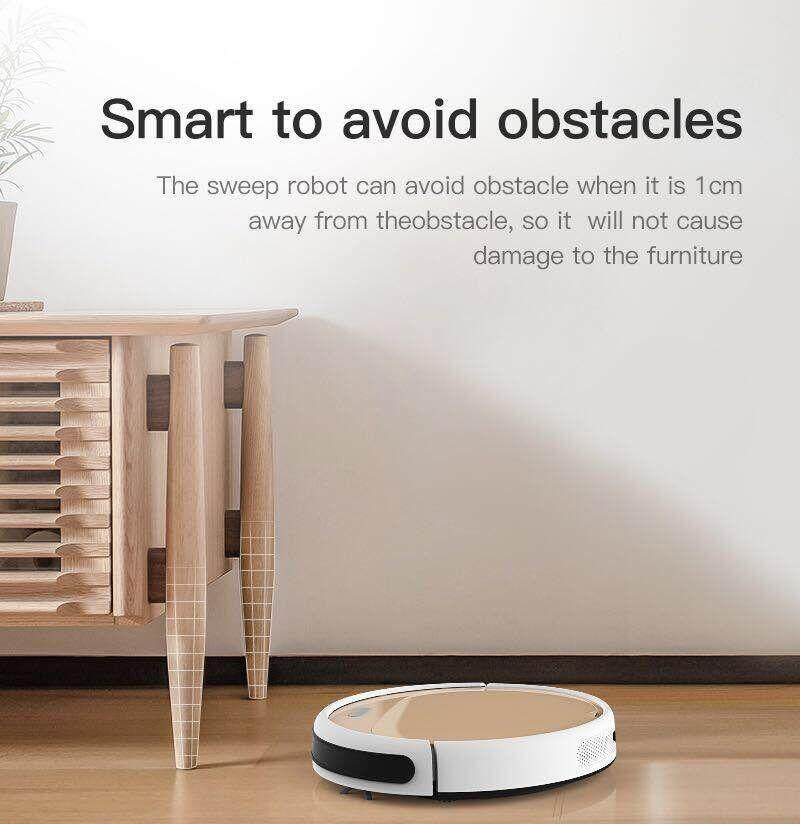 Lefant Smart Sweeping Robot หุ่นยนต์ดูดฝุ่นอัตโนมัติ รุ่นใหม่ล่าสุด C200A