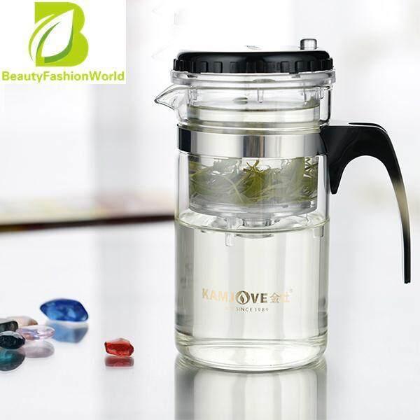 ใหม่ที่มีประโยชน์ 200 มิลลิลิตรแก้วหม้อชาสแตนเลสเครื่องชงชาแก้วสำหรับบ้านคาเฟ่ By Beautyfashionworld.