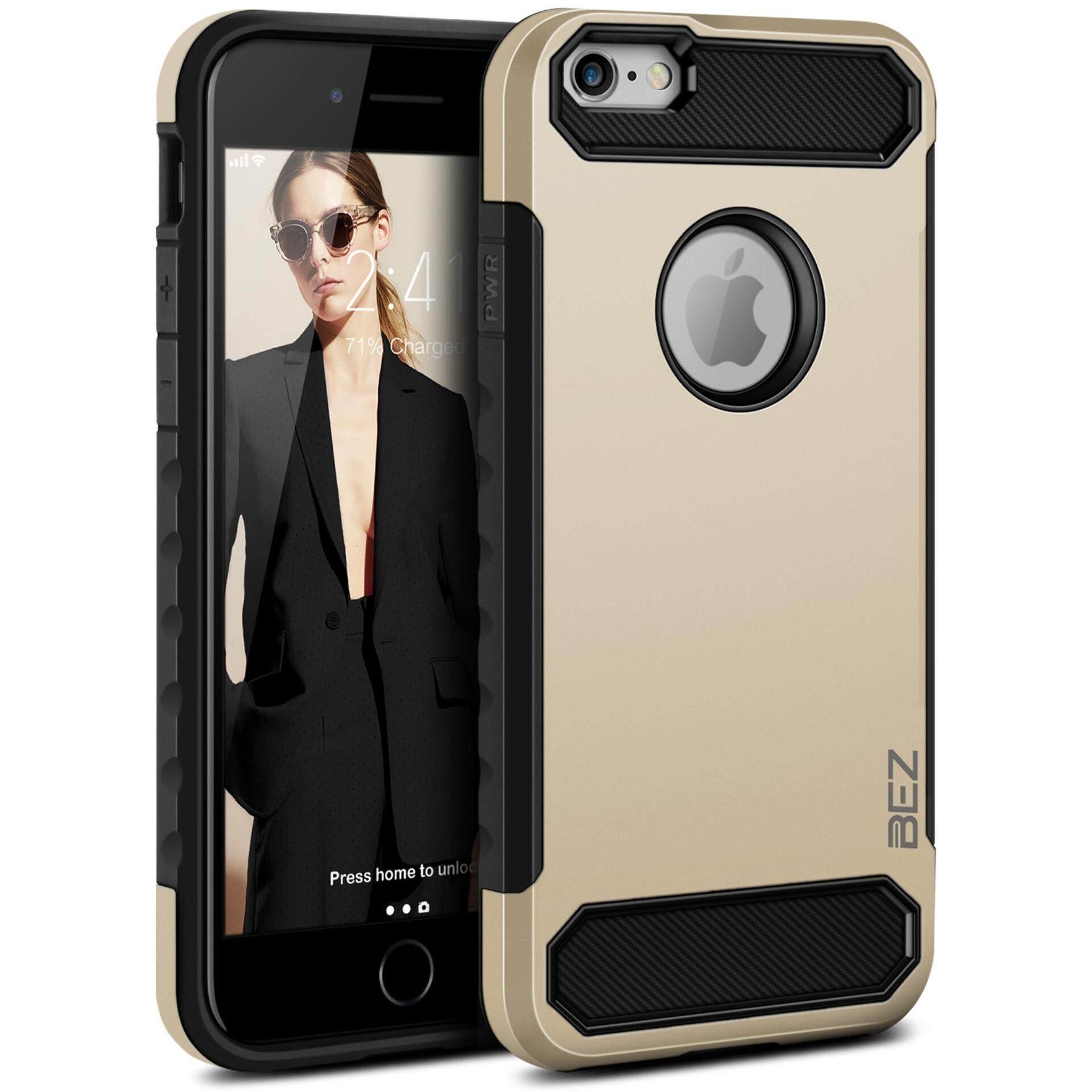 เช็คราคา เคส iPhone 6/ iPhone 6S เคสไอโฟน 6 6S case iPhone 6/ iPhone 6S BEZ เคสมือถือ เคส ไอโฟน เคสฝาหลัง กันกระแทก -สีดำ Shockproof Case Dual Layer Tough Cover for iPhone 6/ iPhone 6S  - (Black) // H3-6G_01 ออนไลน์