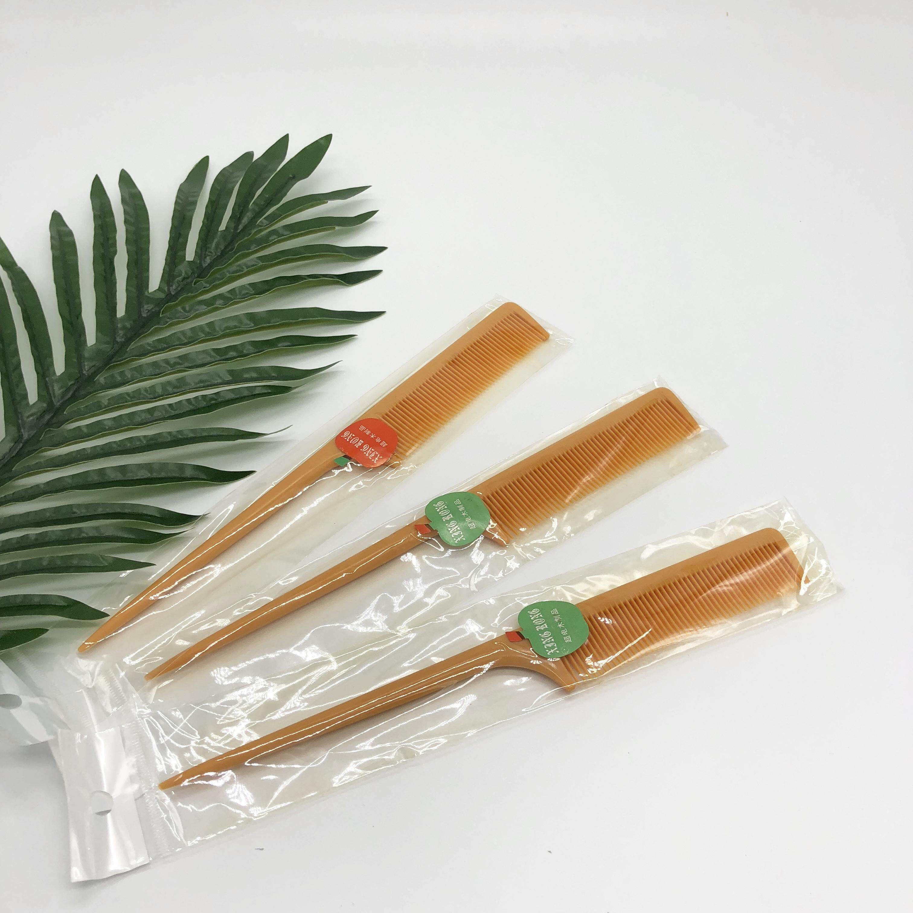 หวีหางกษัตริย์ Apple Kings Tip Comb High Temperature Anti-Static Plastic Comb Hair Stylist For Hairdressing Tools.