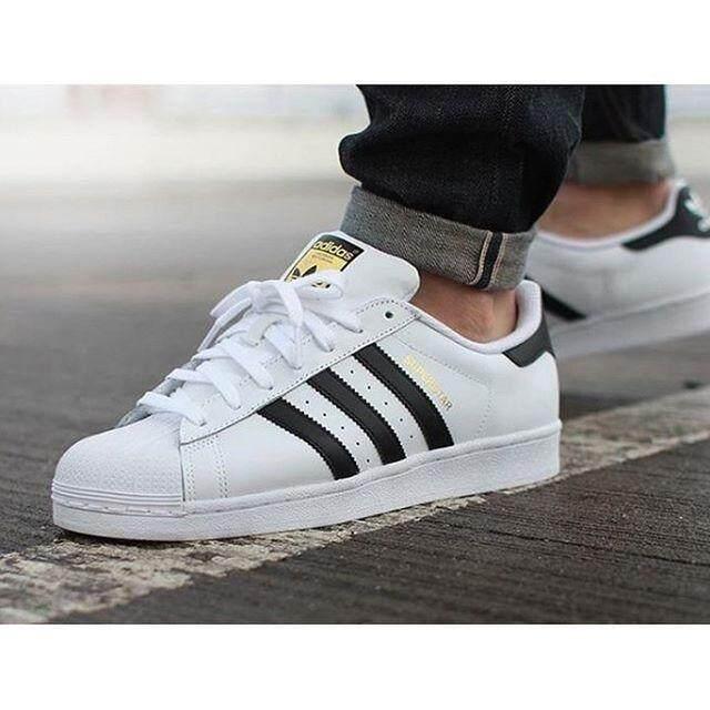 best website c6193 9d630 Adidas รองเท้า ลำลอง อาดิดาส รุ่น ซุปเปอร์สตาร์ Superstar 80S DELUXE (