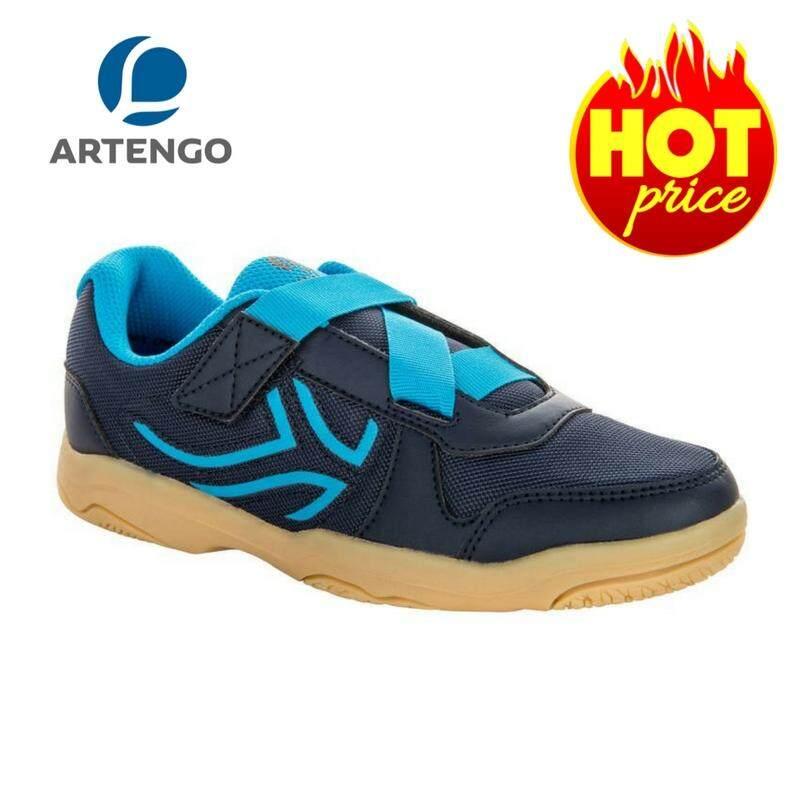 รองเท้าแบดมินตันสำหรับเด็ก Artengoรุ่นbs700 Kd (สีน้ำเงิน)นุ่ม สวมใส่สบายเป็นพิเศษ พร้อมให้การยึดเกาะที่ดีเยี่ยม ในราคาที่สัมผัสได้! By Poon Store.