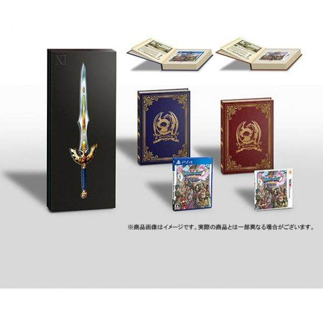 PS4 DRAGON QUEST XI DOUBLE PACK [HERO'S SWORD BOX] (JAPAN)