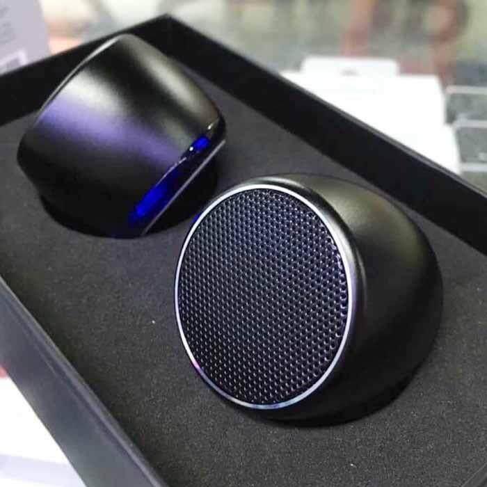 ซื้อ Tws True Wireless Stereo Magnetic Mini Bluetooth Speakers Support Calls Remote Shutter มินิลำโพงWireless ระบบเสียงStereo Pmt กรุงเทพมหานคร