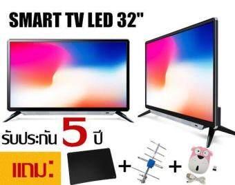 OTOKO LED TV Smart TV+Digiral TV ดิจิตอล TV ( จอกันกระแทก )32 นิ้ว TV WIFI รองรับ Application Line Facebook