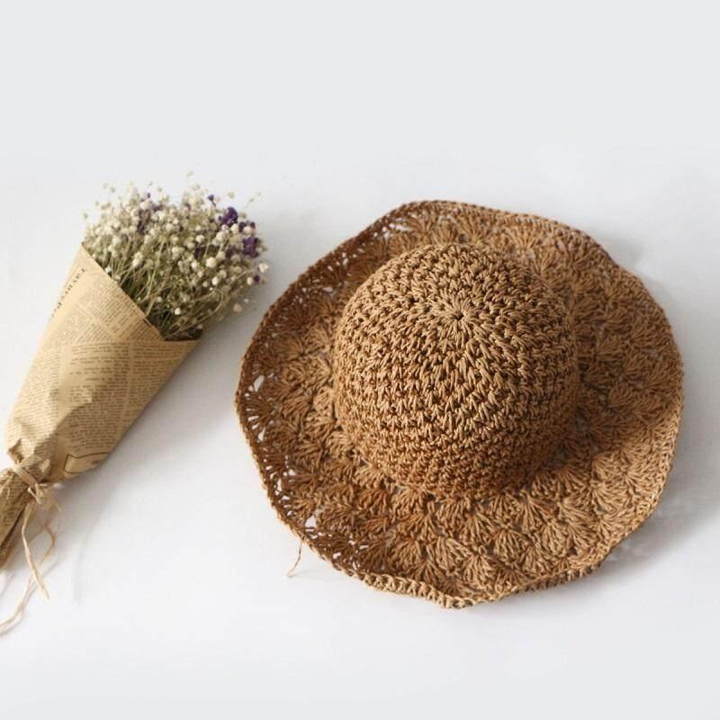 หมวกสานแฟชั่นสไตล์ญี่ปุ่น.