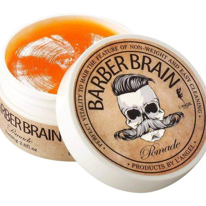 langel barber brain pomade 80 g. ผลิคภัณฑ์จัดแต่งทรงผมแอล แองเจล.