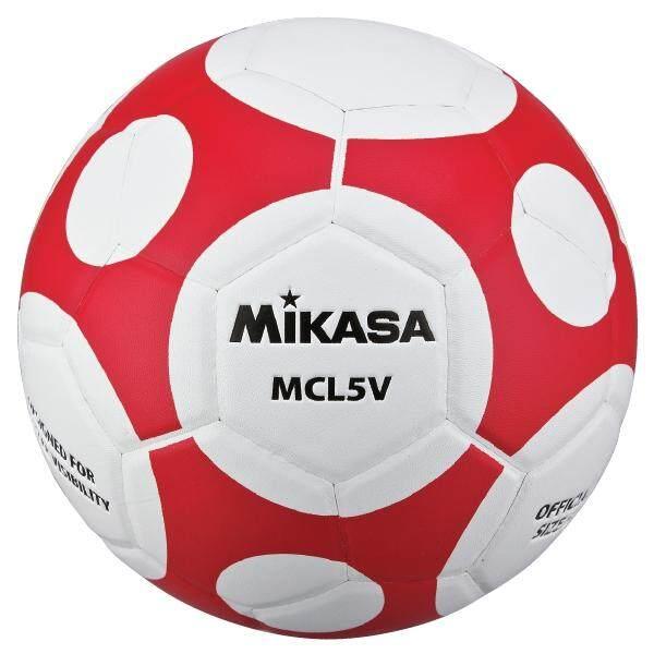 การใช้งาน  MIKASA Football MKS PVC MCL5V-WR แถมฟรี ตาข่ายใส่ลูกฟุตบอล + เข็มสูบลม (545)