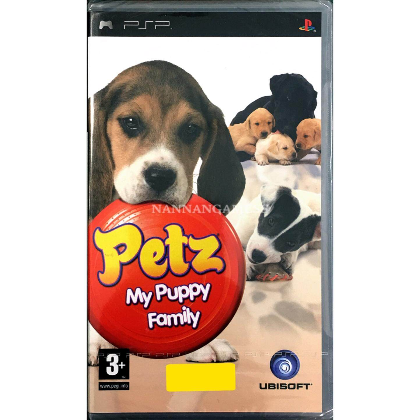 PSP Petz My Puppy Family