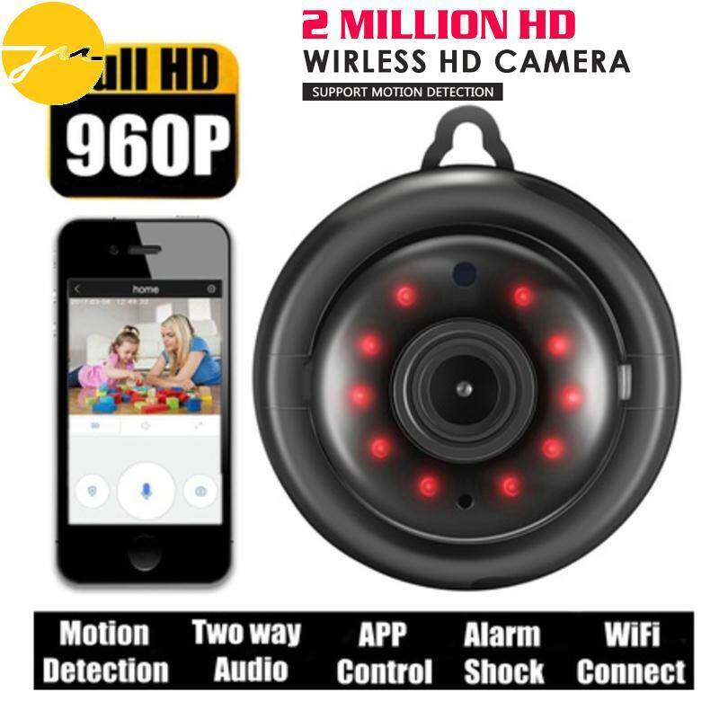 Jms Wifi กล้อง Ip กล้องวงจรปิดพรีเมี่ยม 38db ไมโครโฟน 720 จุด Full Hd By Jingming Store.