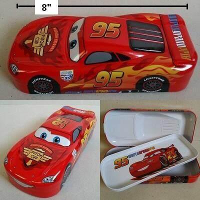 สุดยอดสินค้า!! ส่งฟรี Kerry!!! ขาย กล่องดินสอ กล่องดินสอเหล็ก 2 ชั้น คาร์แม็คควีน Car Mcqueen