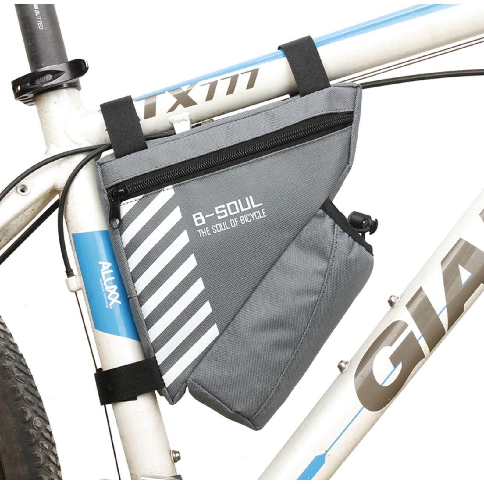 กระเป๋าใต้เฟรมใส่ขวดน้ำ B-Soul By Mj Bike.