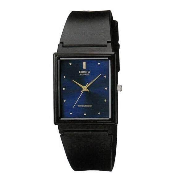 Casio Standard นาฬิกาข้อมือ สำหรับชายหรือหญิง สายเรซิน รุ่น Mq 38 2A สีดำ น้ำเงิน เป็นต้นฉบับ