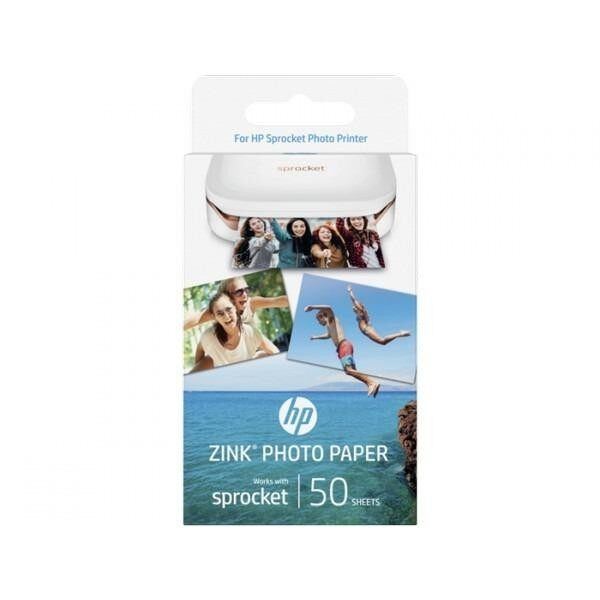 ขาย Hp Zink® Sticky Backed Photo Paper 50 Sheets 2 X 3 In ใหม่