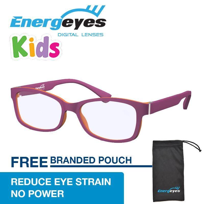 ขาย Energeyes Kids แว่นตาคอมพิวเตอร์ Protect Eyes และตัดแสงสีฟ้าโดยเด็ก 50 รูปสี่เหลี่ยมผืนผ้าด้านหน้าสีม่วงและนกแก้วสีแดงกลับ ใหม่