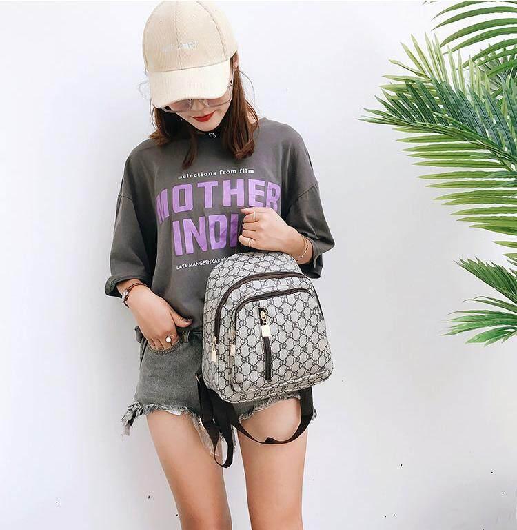 กระเป๋าเป้สะพายหลัง นักเรียน ผู้หญิง วัยรุ่น สกลนคร POLO ดาวพร้อมกระเป๋าสะพาย กระเป๋า กระเป๋าเป้ กระเป๋าสะพายหลัง backpack no b01 black