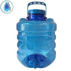 SafetyDrink ถังใส่น้ำพลาสติก10 ลิตร (มีก็อก)