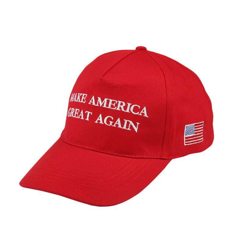 Make America Great Again American Flag Us Stars Cap Adjustable Ball Sun Hats Red By Charleybrewer.