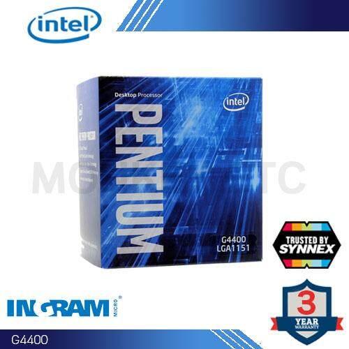 Cpu Intel Pentium G4400 3.3 Ghz, 3mb Cache, Lga1151.