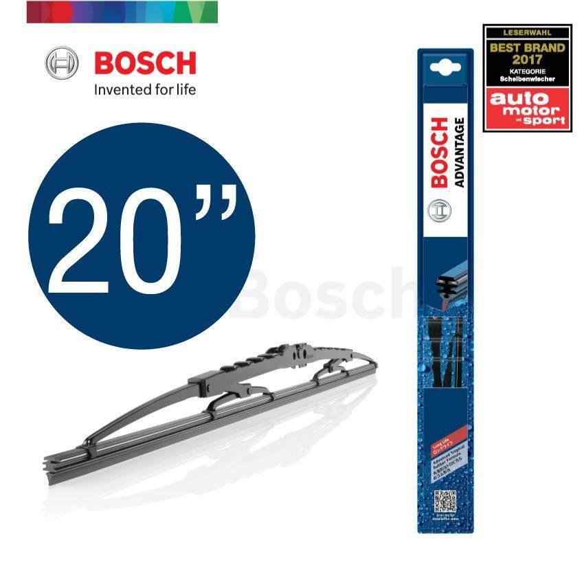 Bosch ใบปัดน้ำฝน รุ่น Advantage ขนาด 12-26 นิ้ว By Bosch Automotive Official Store.