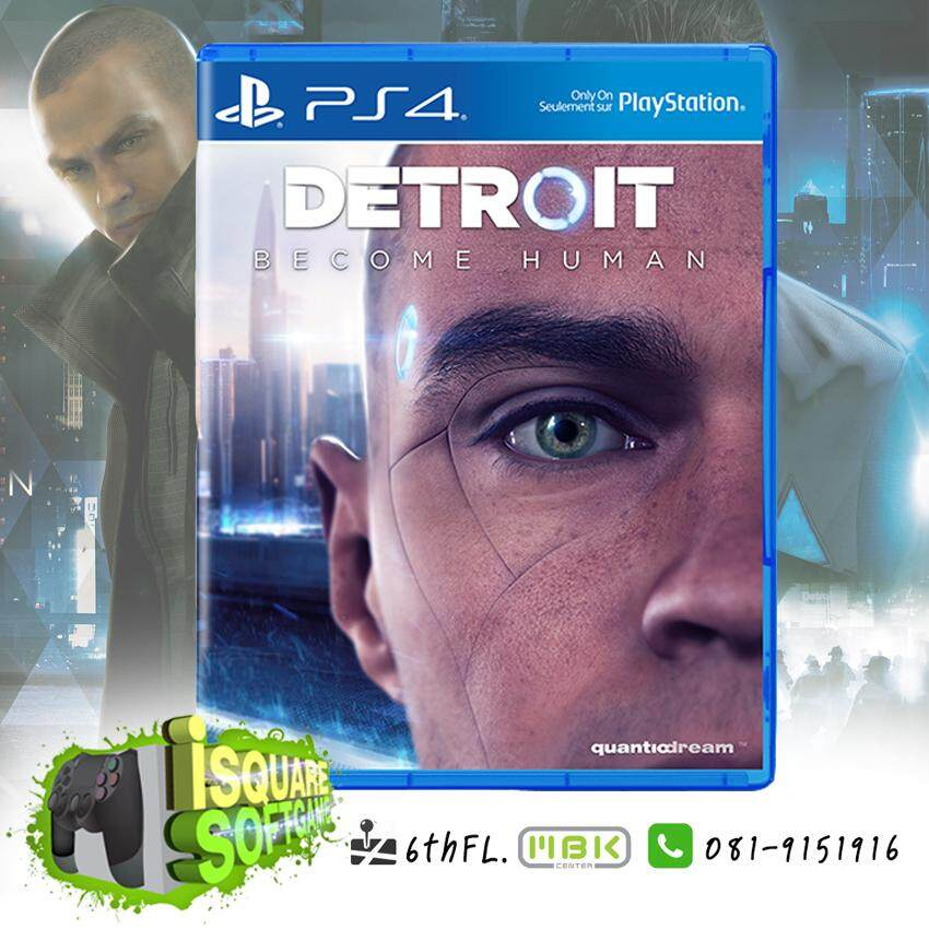 PS4: DETROIT BECOME HUMAN