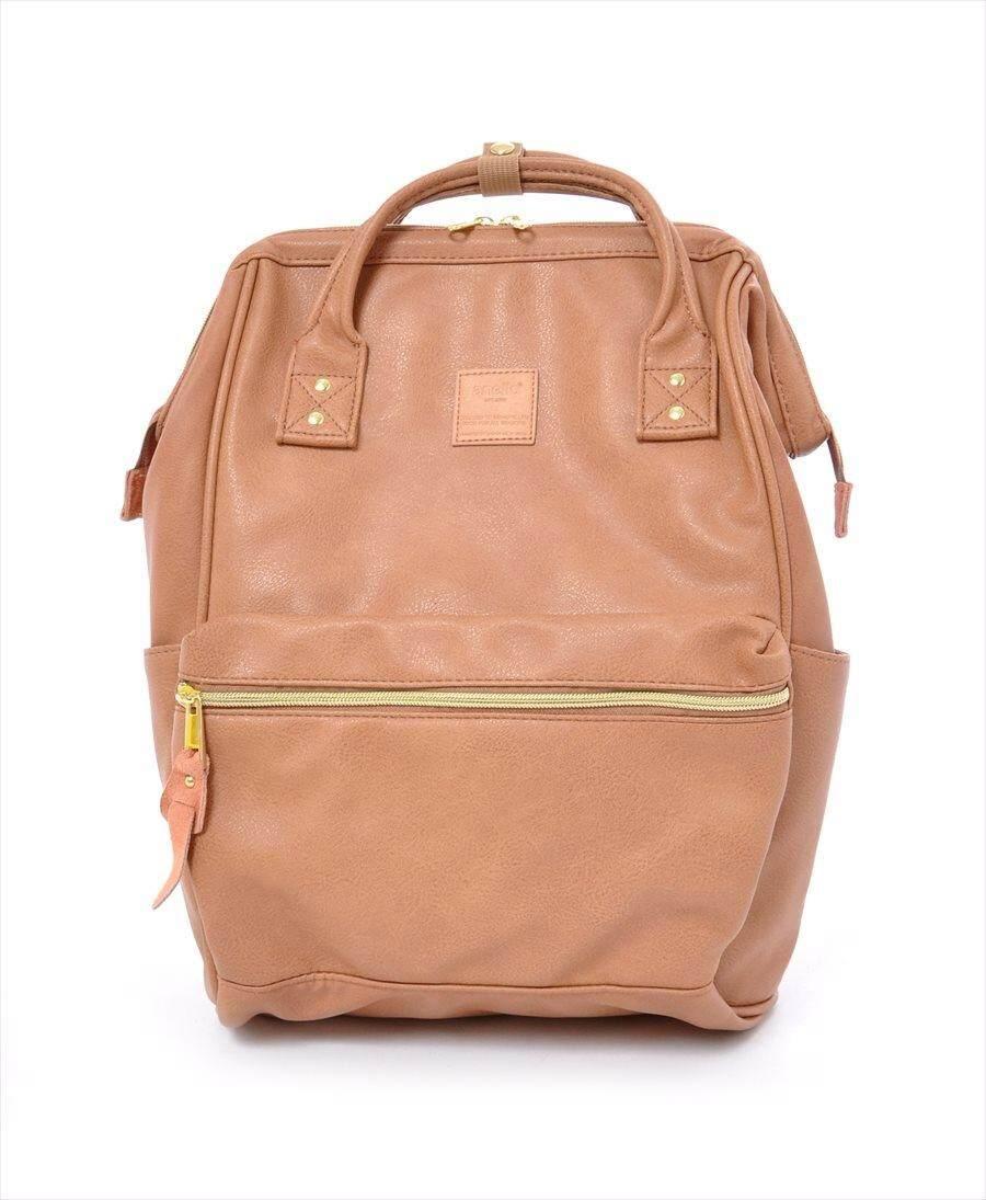 การใช้งาน  นครนายก กระเป๋า Anello PU Leather Backpack (Mini Size) - Japan Imported แท้ 100%