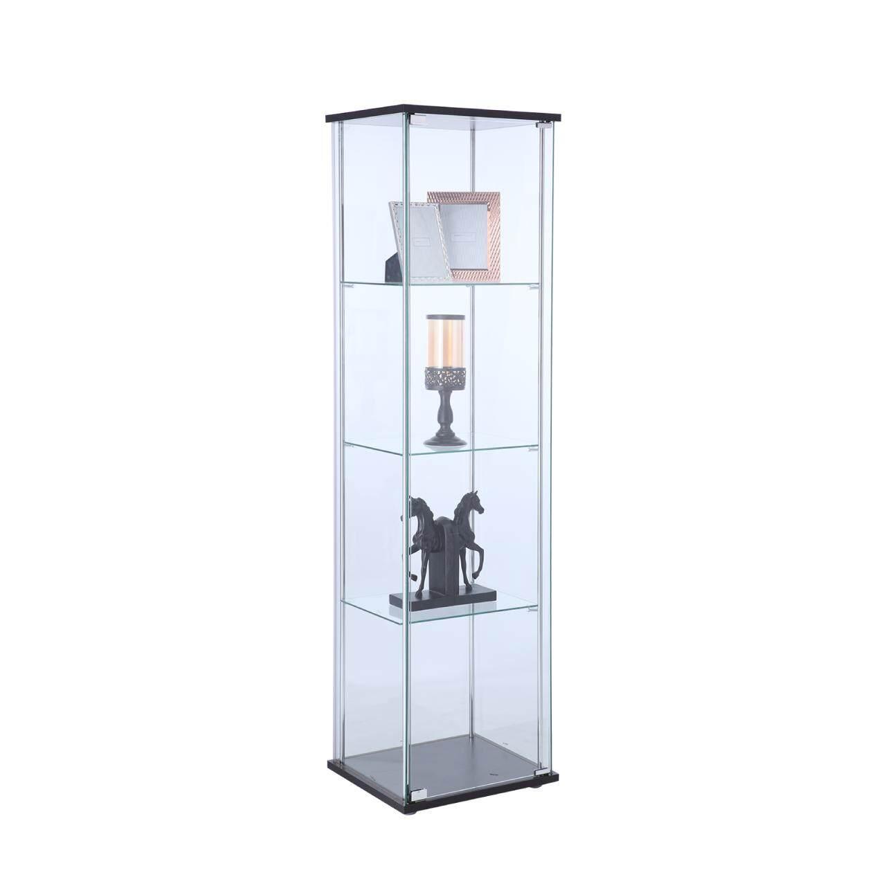 Winner Furniture ตู้โชว์กระจก รุ่น กลอรี่ 42.5 ซม. - สีดำ By Index Living Mall Official Store.