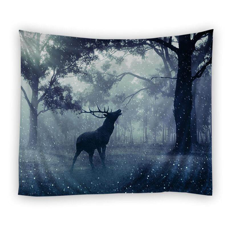 พื้นหลังผ้าผนังผ้าแขวนตกแต่งผนังผ้าม่านพรม By Taobao Collection.