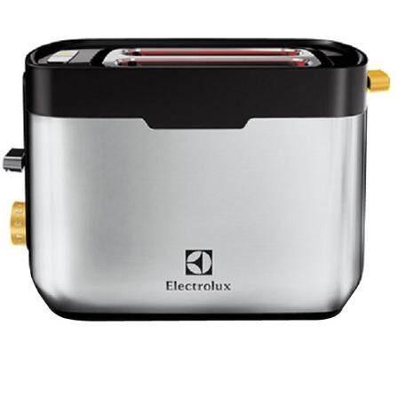 น่าน ELECTROLUX CreativeCollection เครื่องปิ้งขนมปัง ตัวเครื่องทำจากสแตนเลสสตีล ฟังก์ชั่นอุ่นและละลายน้ำแข็ง (1 050 วัตต์) รุ่น ETS5604S สีเงิน