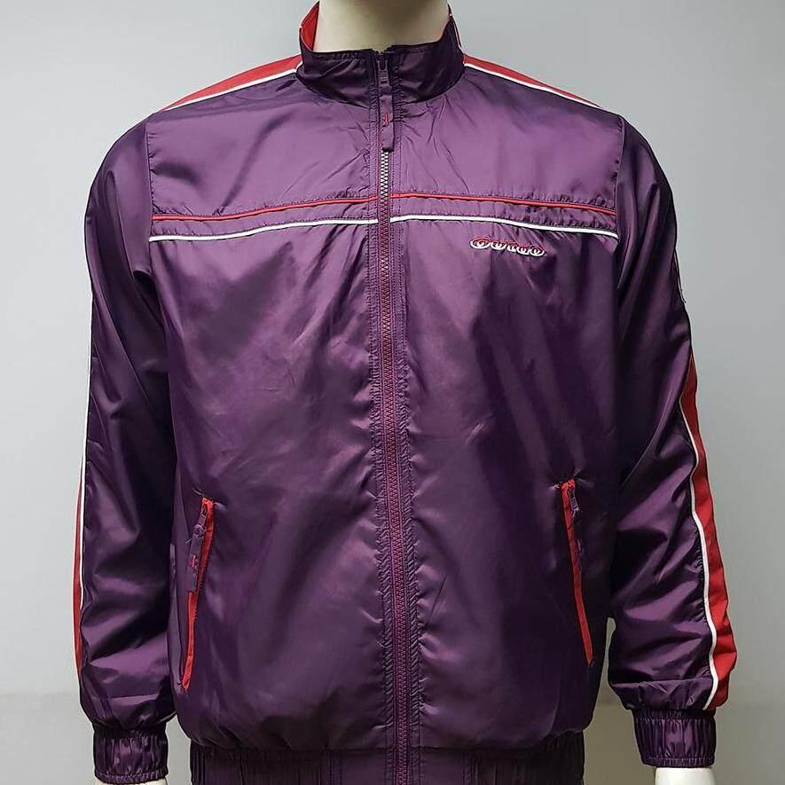 เสื้อแจ็กเก็ตมอเตอร์ไซค์ กันลม กันหนาว ผ้าไนลอน มียางยืดที่เอวและปลายแขน มีกระเป๋าข้างใส่ของ By Outdo.