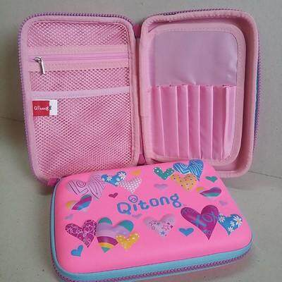 สุดยอดสินค้า!! ส่งฟรี Kerry!!! ขาย กล่องดินสอสมิกเกิ้ล EVA กระเป๋าดินสอ กล่องดินสอ smiggle hardtop pencil case 3d 3ดี ลาย หัวใจ สีชมพู