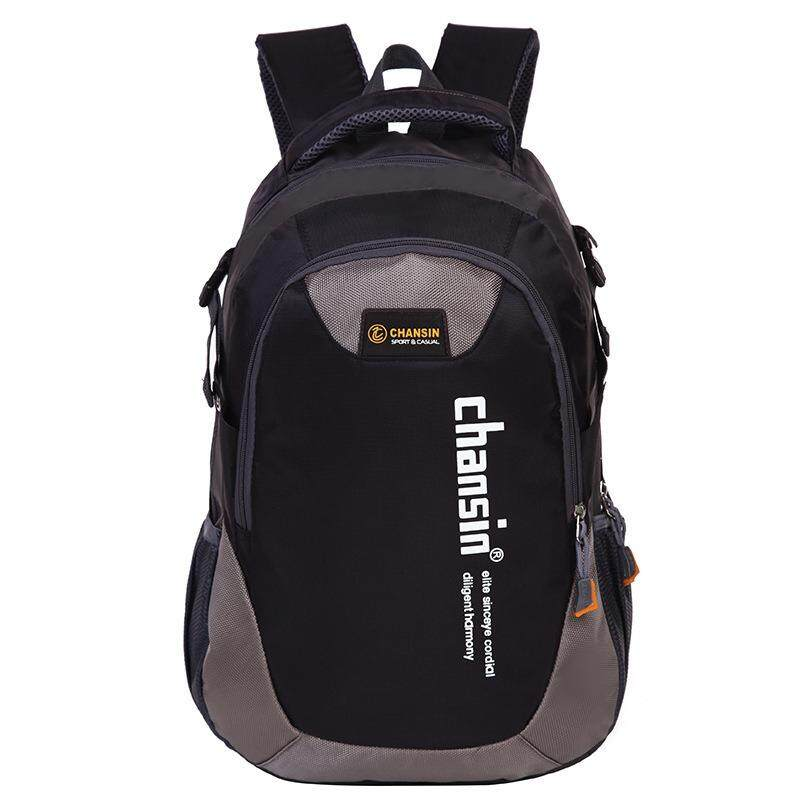 Open กระเป๋าเป้ผู้ชาย Backpack กระเป๋าเป้สะพายหลัง (สีดำ) รุ่น 103 By Open Surprise.