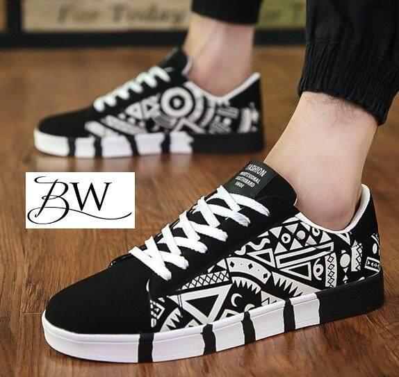 BW รองเท้าผ้าใบผู้ชาย สไตล์ street fashion