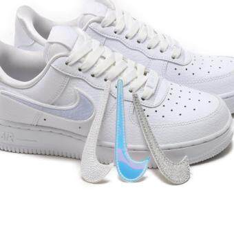 c25d3163ccf การเปรียบเทียบราคา Nike Air Force 1 Low 1-100 (W) AQ3621-111 Triple White  Velcro Swooshes ซื้อ