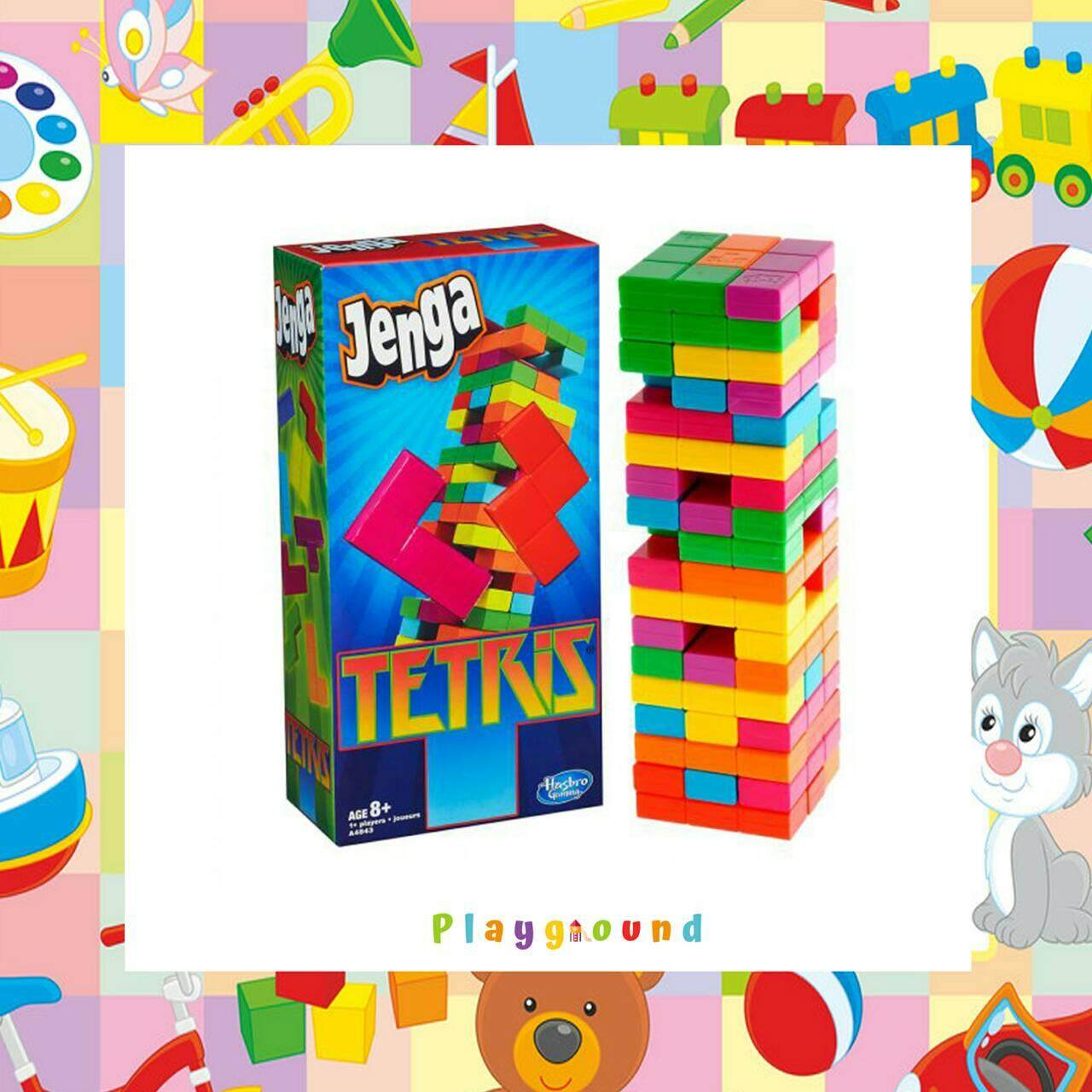 Jenga Tetris เกมส์ตึกถล่ม By Playground Th.