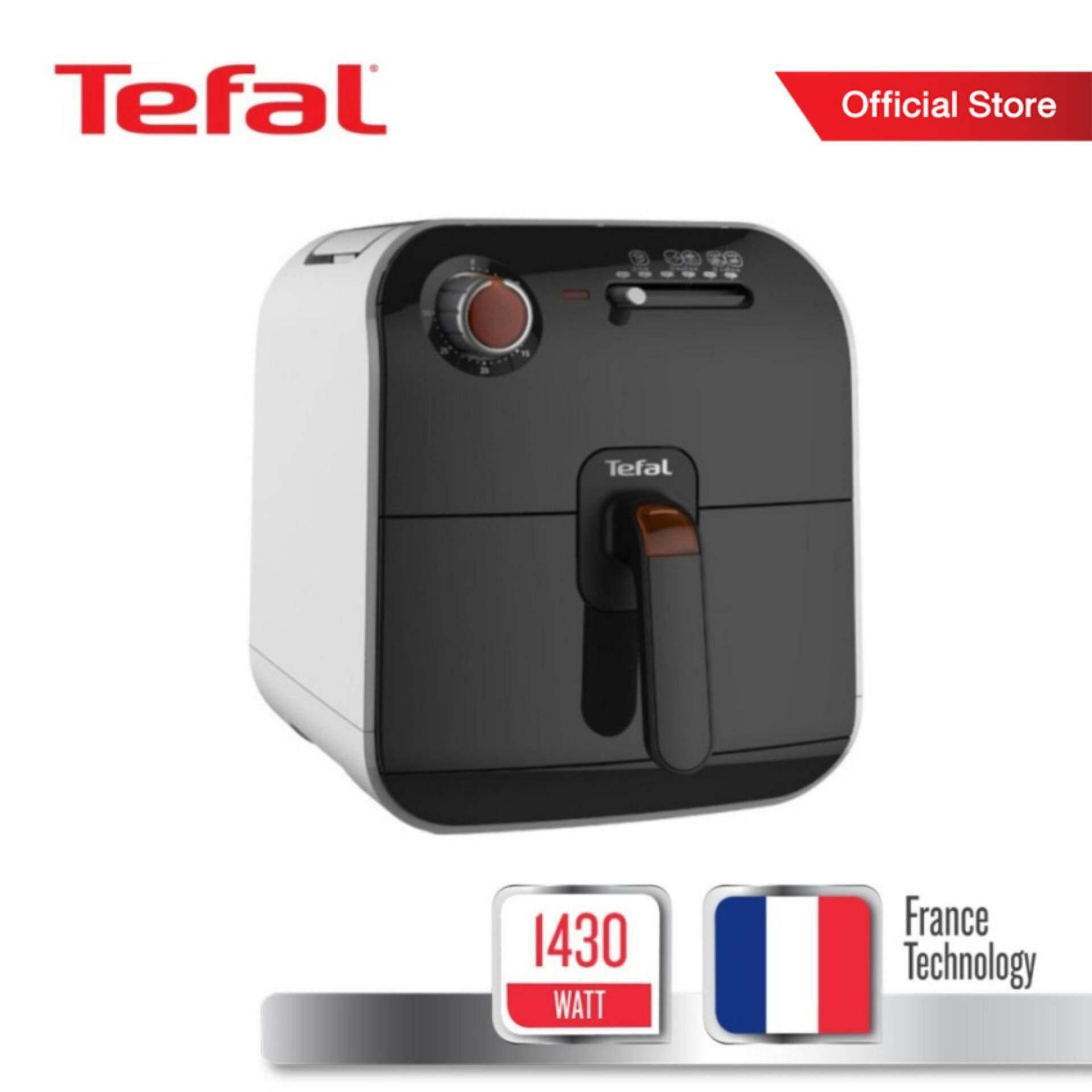 Tefal หม้อทอดไร้น้ำมัน กำลังไฟ 1430 วัตต์ ขนาดความจุ 800 กรัม รุ่น Fx1000 -Black By Tefal Official Store.