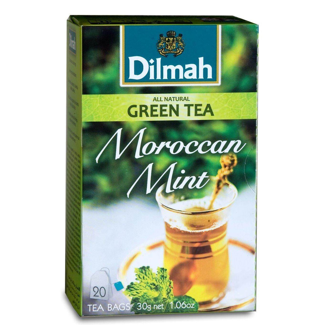 Dilmah Thailand Rose With French Vanilla Moroccan Mint Tea 15