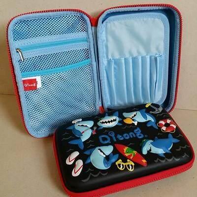 ส่งฟรี Kerry!!! ขาย กล่องดินสอสมิกเกิ้ล EVA กระเป๋าดินสอ กล่องดินสอ smiggle hardtop pencil case 3d 3ดี ฉลาม