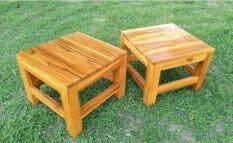 เก้าอี้ไม้สักหน้ากว้าง 30x30 cm