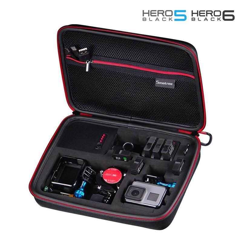 ราคา Smatree G260P5 Gopro Hero 4 5 6 Charging Case With 3 Channel Charger กระเป๋ากล้อง Gopro Hero 5 6 พร้อม Powerbank แท่นชาร์จ 3 ช่อง ถูก