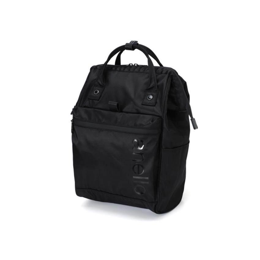ลำพูน Anello Repellency Waterproof Series กระเป๋าเป้ขนาดใหญ่แบบซิบกันน้ำ รุ่น FSO-B001-BK (สีดำ)