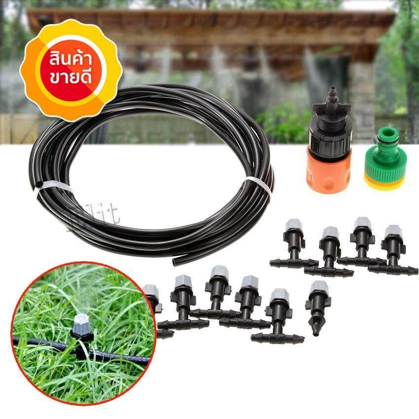 ส่วนลด Elit หัวพ่นหมอกแรงดันต่ำ หัวพ่นหมอก หัวพ่นหมอกไอน้ำ ฟาร์มผักไฮโดรโปนิกส์ Outdoor Greenhouse Garden Misting Cooling System Mist Nozzlesprinkler 10M 33Ft