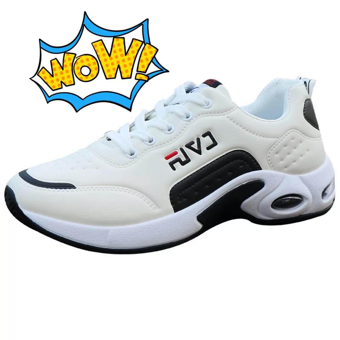 Aadine รองเท้าผ้าใบผู้ชาย รองเท้าแฟชั่นสไตล์เกาหลี No.A115