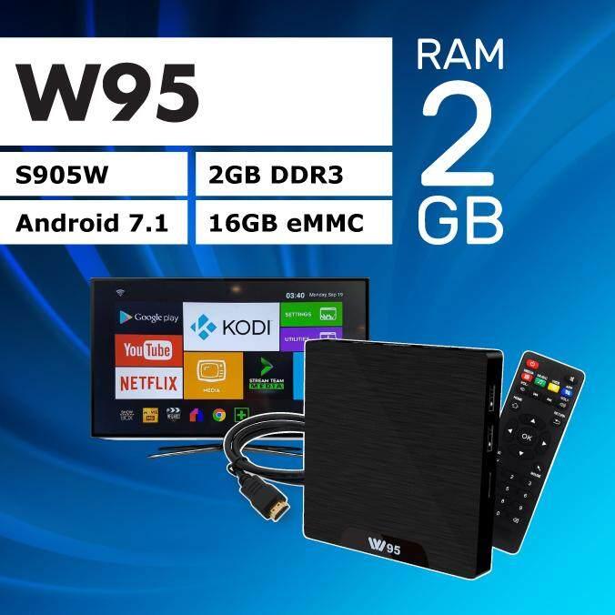 ซื้อที่ไหน  มหาสารคาม ราคานี้ วันเดียวเท่านั้น สุดพิเศษ!!  W95 android 7.1   Ram2GB  Rom16GB   4K  wifi 2.4  Quad core 64 bit
